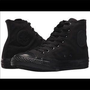 Converse black one black all star